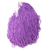 Seedbead Metallic Purple 10/0 Strung